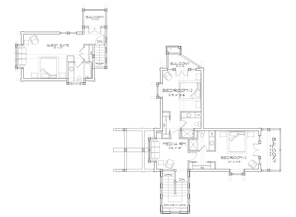 Idlewild Second Floor Plan