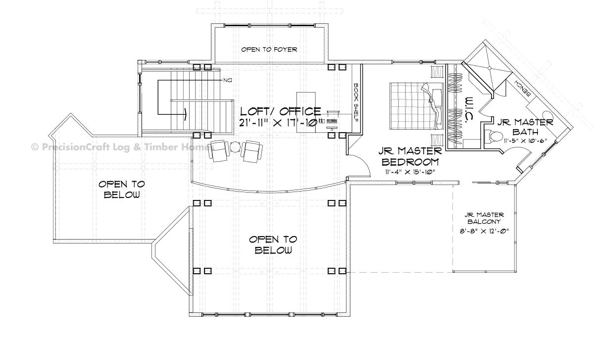 Jasper Luxury Timber Home Floor Plan
