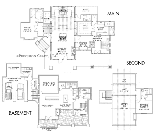 Laurette Chateau Customization 2 Floor Plan