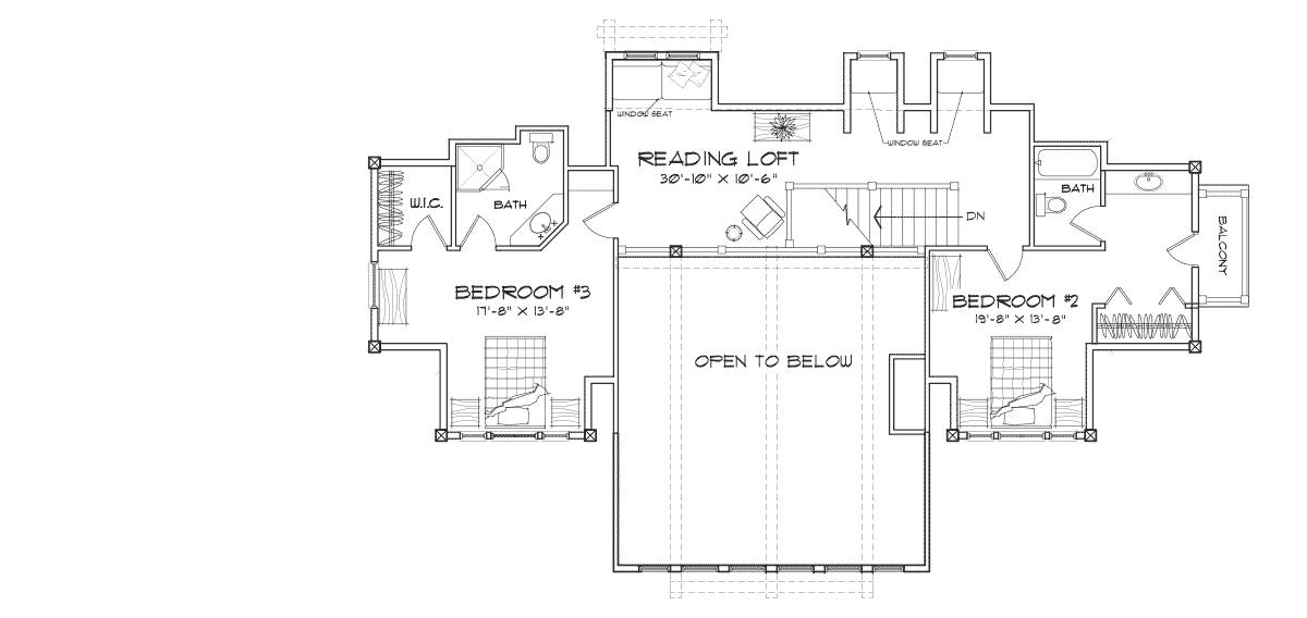 Laurette Chateau Second Floor Plan
