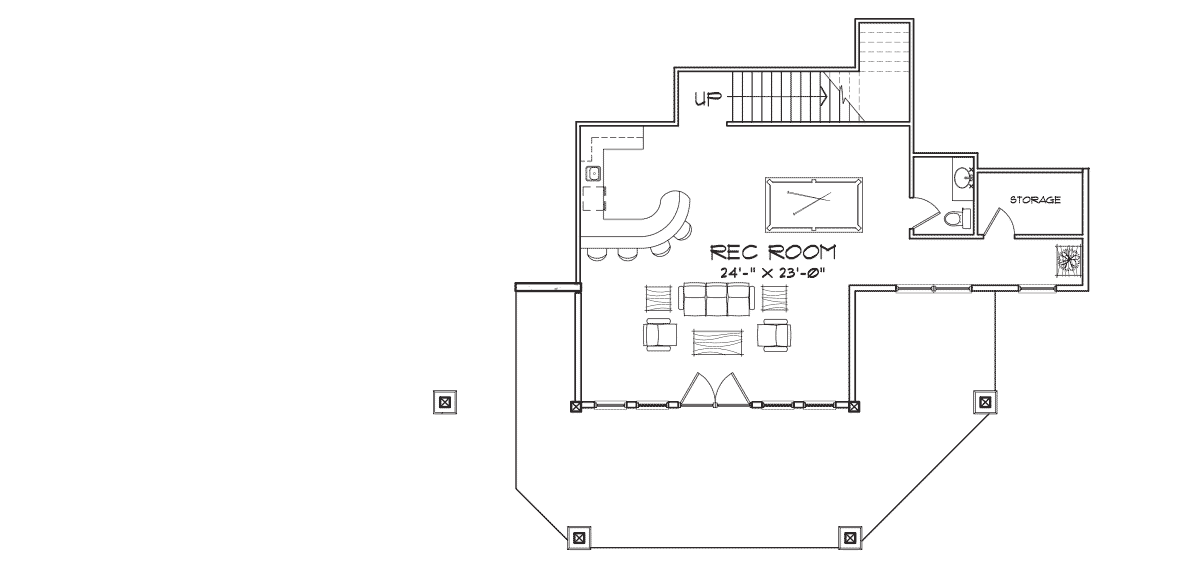 Laurette Chateau Basement Floor Plan