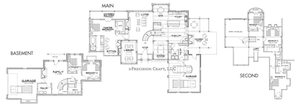 Montcliare Client Customization Floor Plan