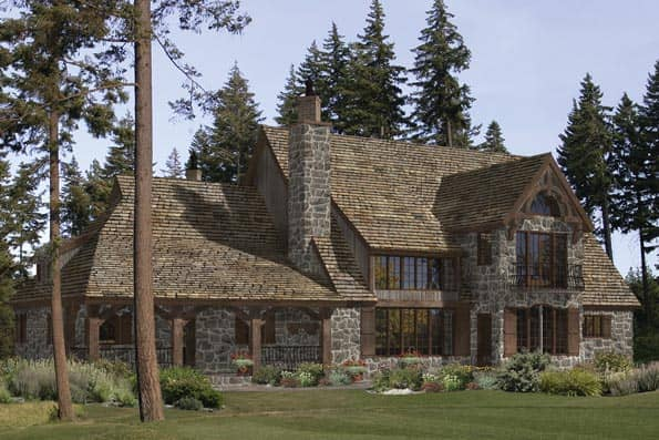 Montclaire timber frame home