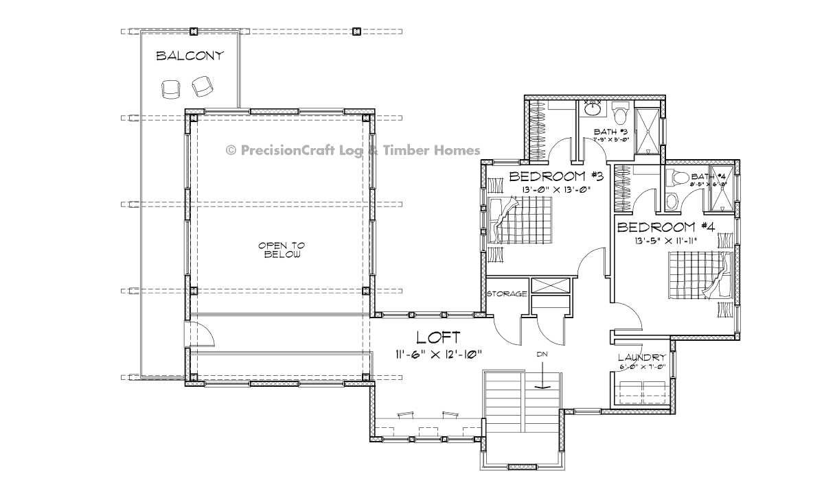 Nelson Second Floor Plan