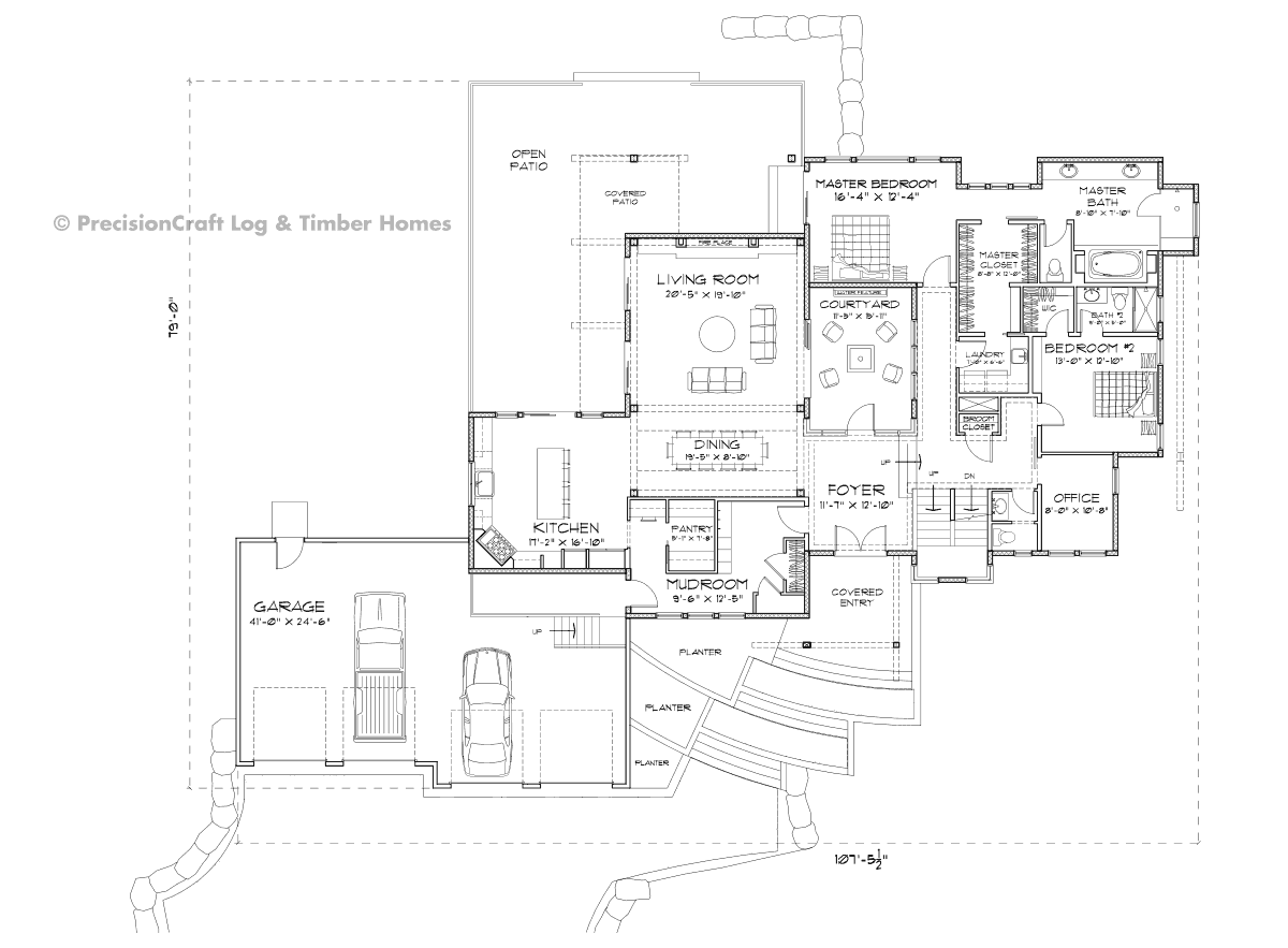 Nelson Main Floor Plan