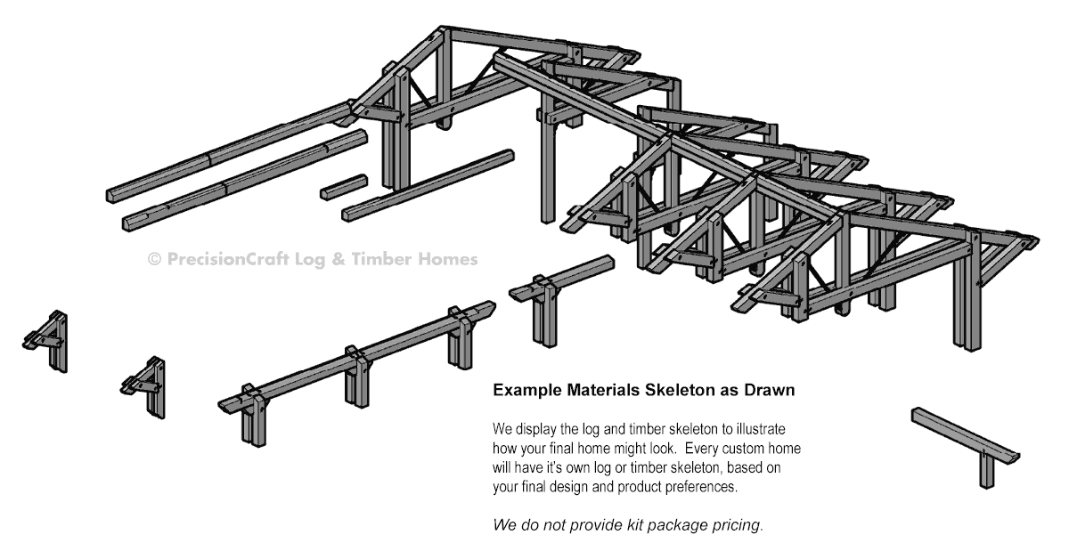 Pagosa Springs  timber frame Structure