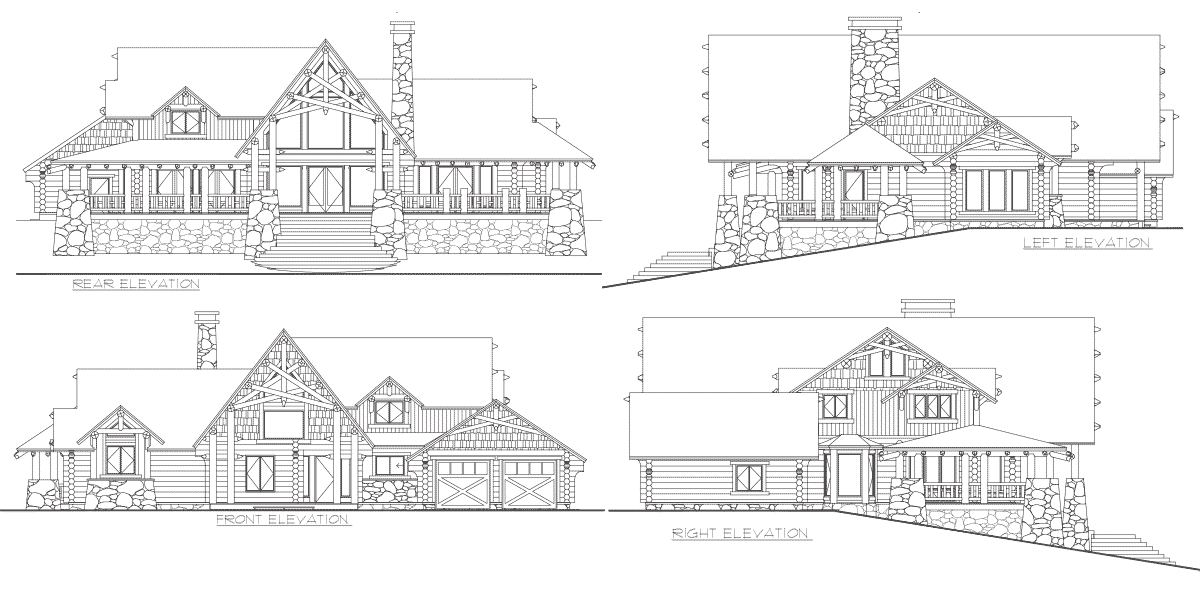 Peaks Lodge Elevation