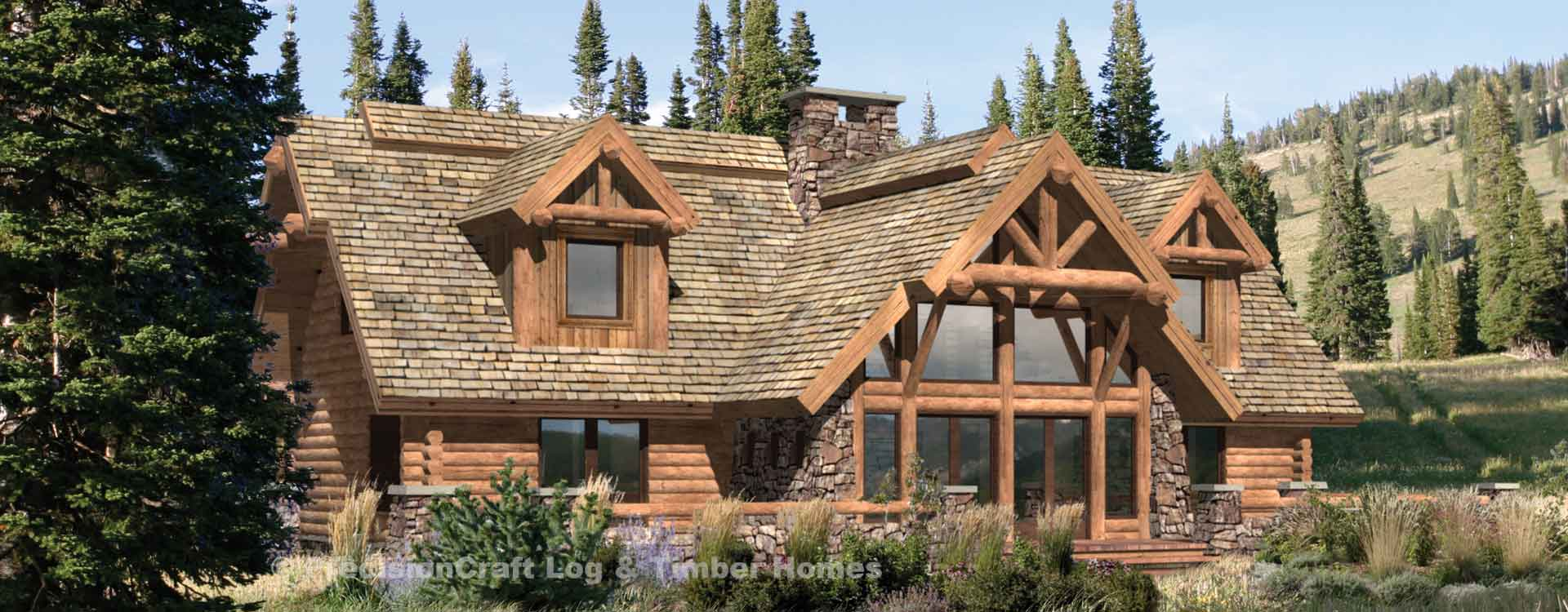 Pinegrove Log Home Cabin