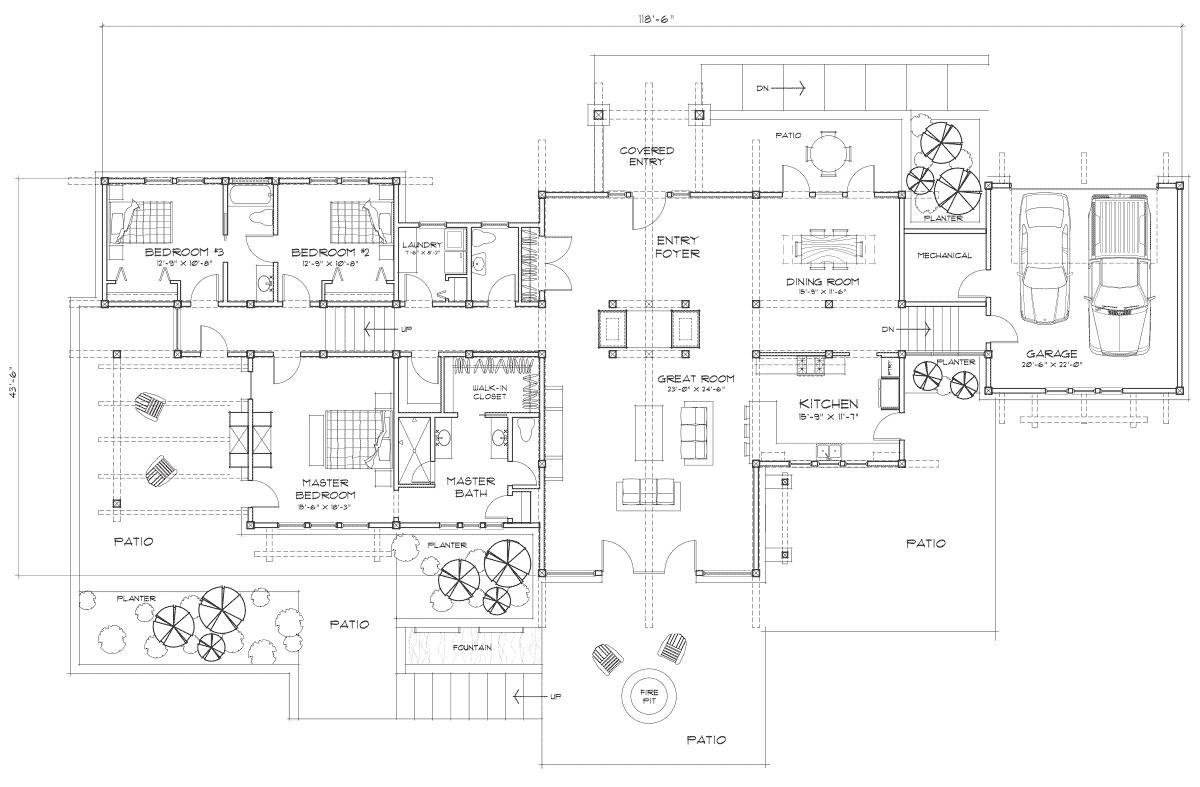 Port Townsend Main Floor Plan