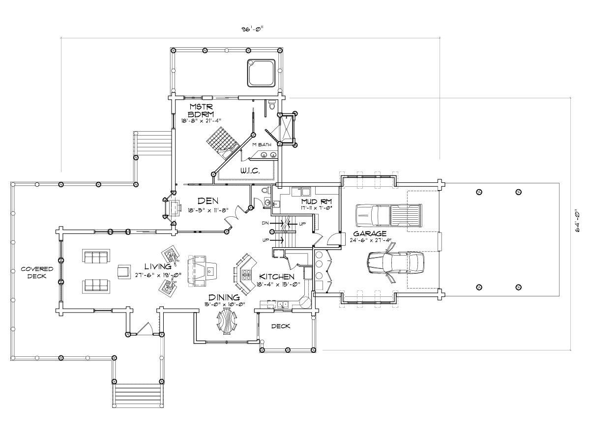 Prairie Hill Main Floor Plan