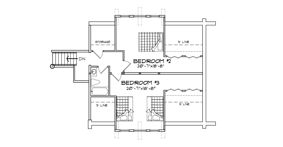Prairie Hill Second Floor Plan