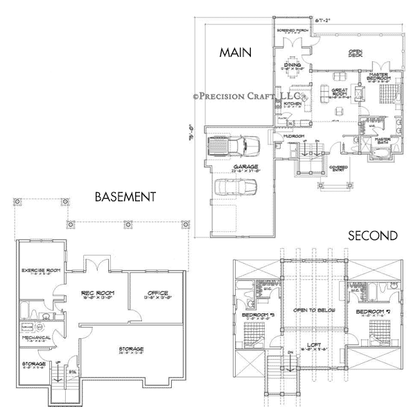 Roanoke Valley Customization Floor Plan