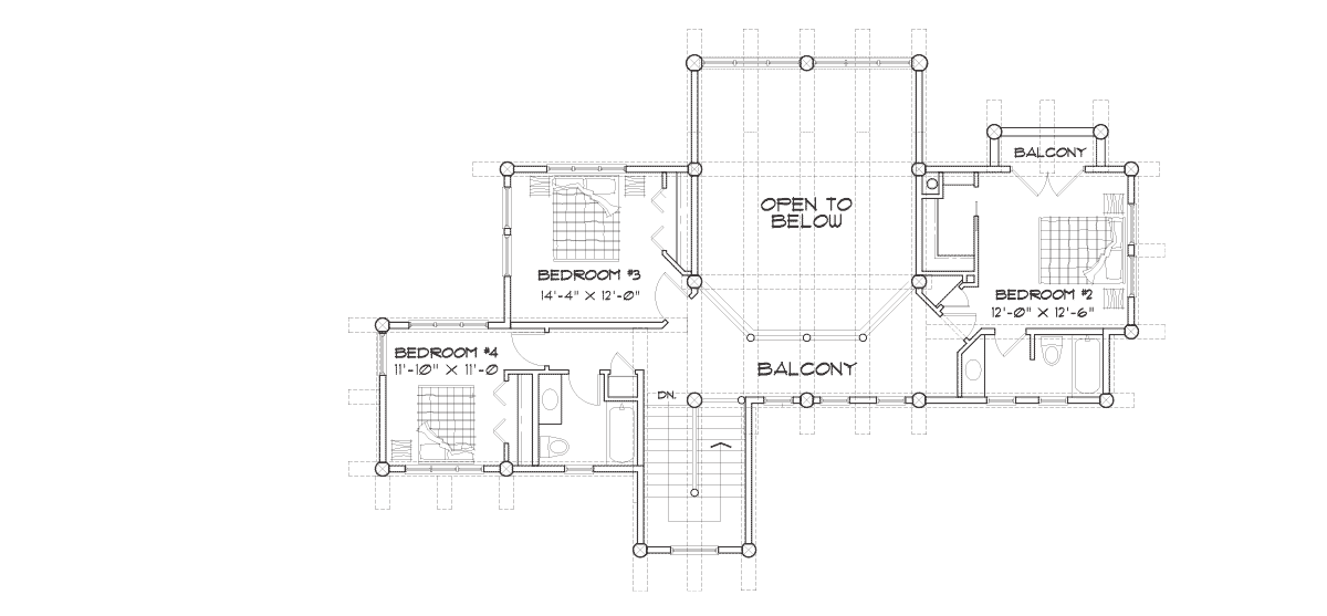 Roanoke Valley Second Floor Plan