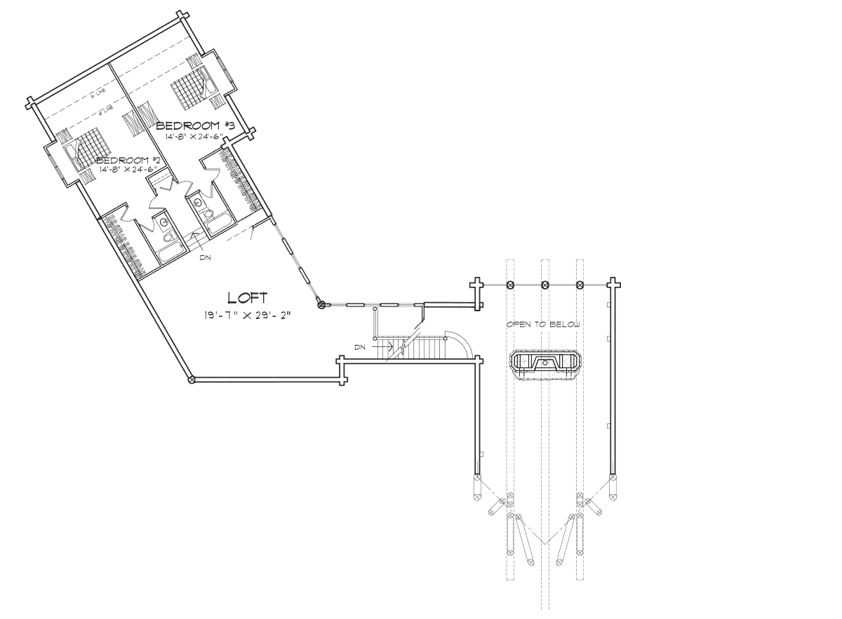 Rockpoint Second Floor Plan