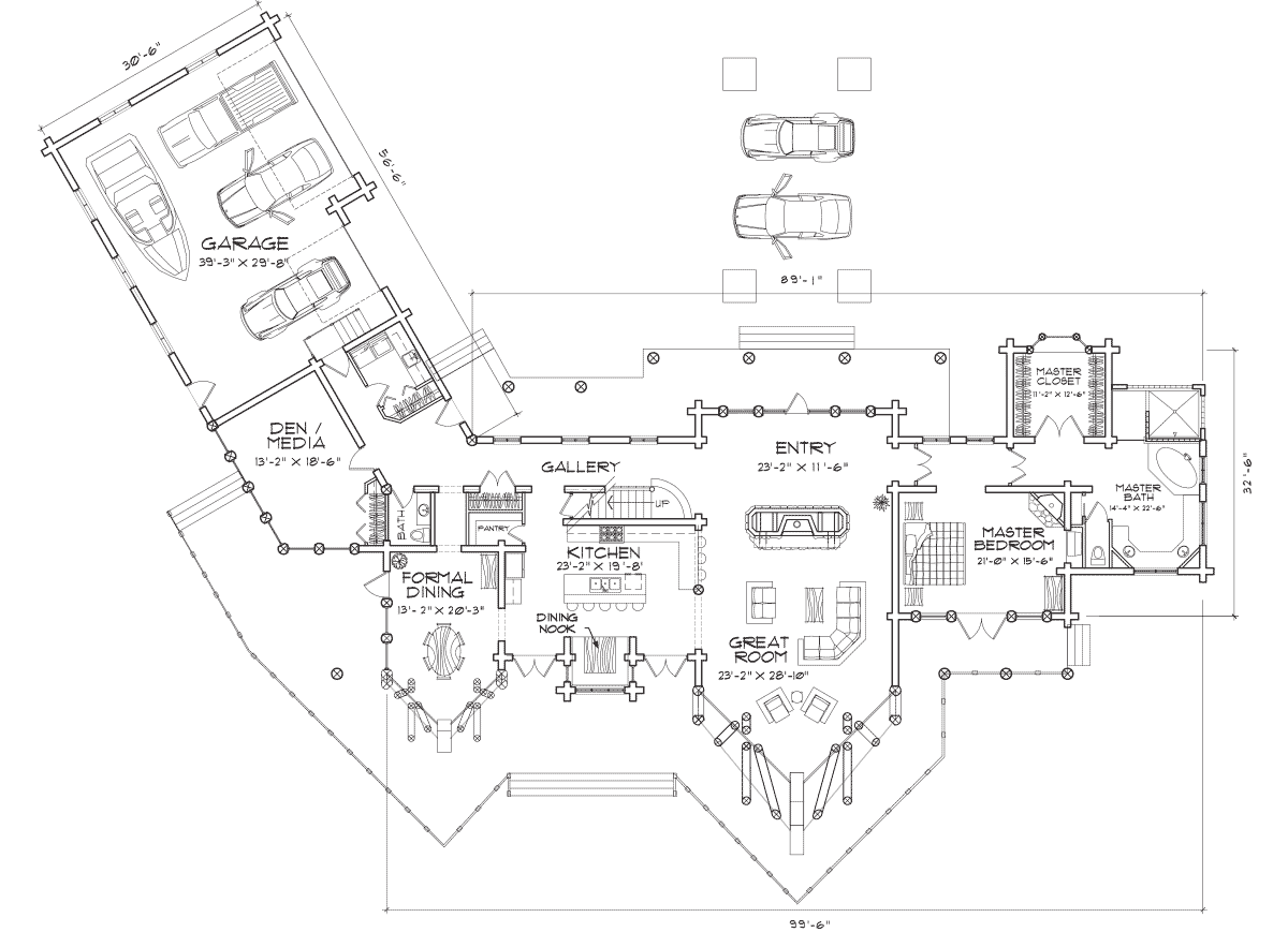 Rockpoint Main Floor Plan