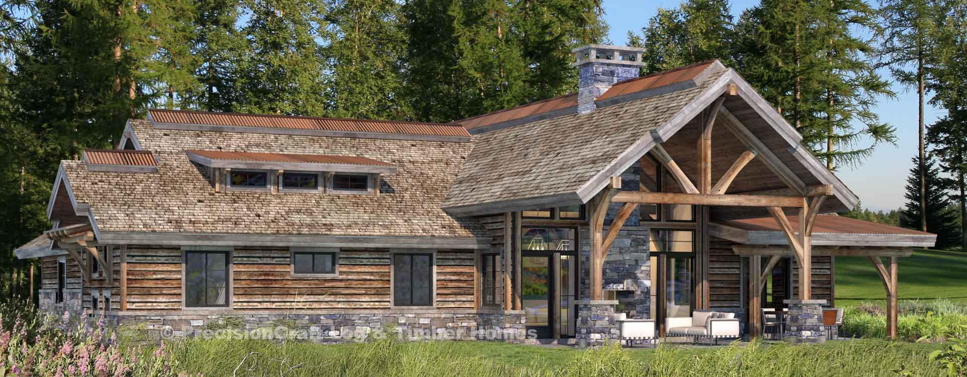 Rockwood Single Level home Rendering