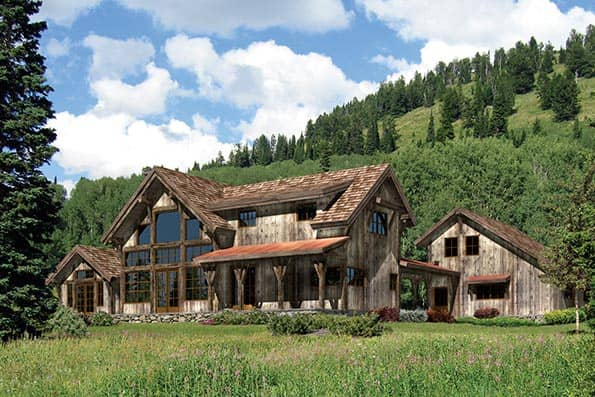 Silver Springs Timber Frame Home Plan