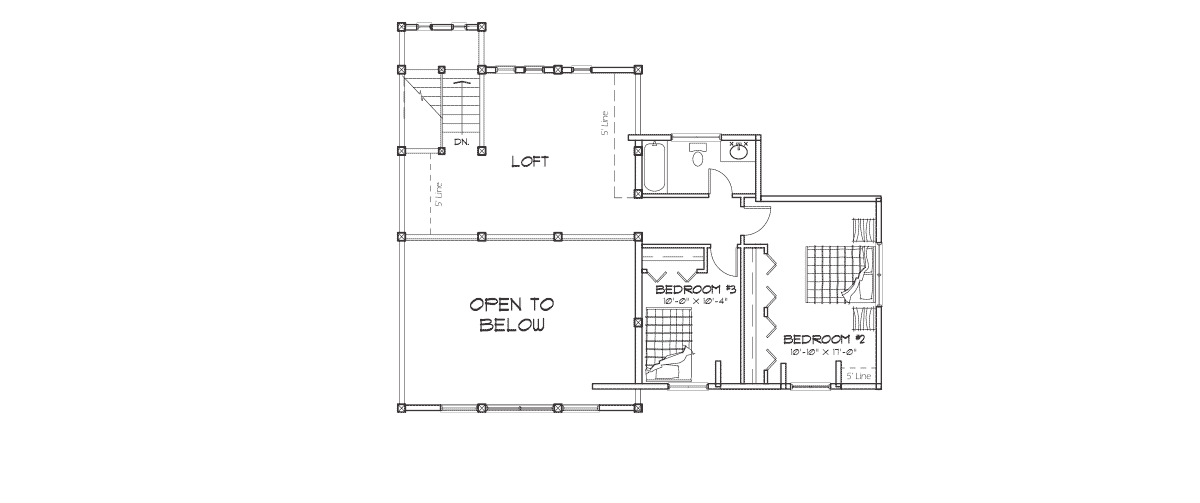 Silver Springs Second Floor Plan