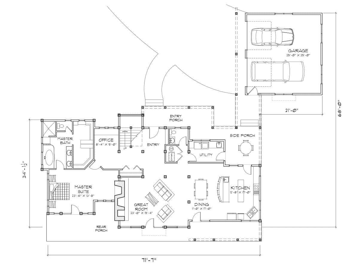 Silver Springs Main Floor Plan