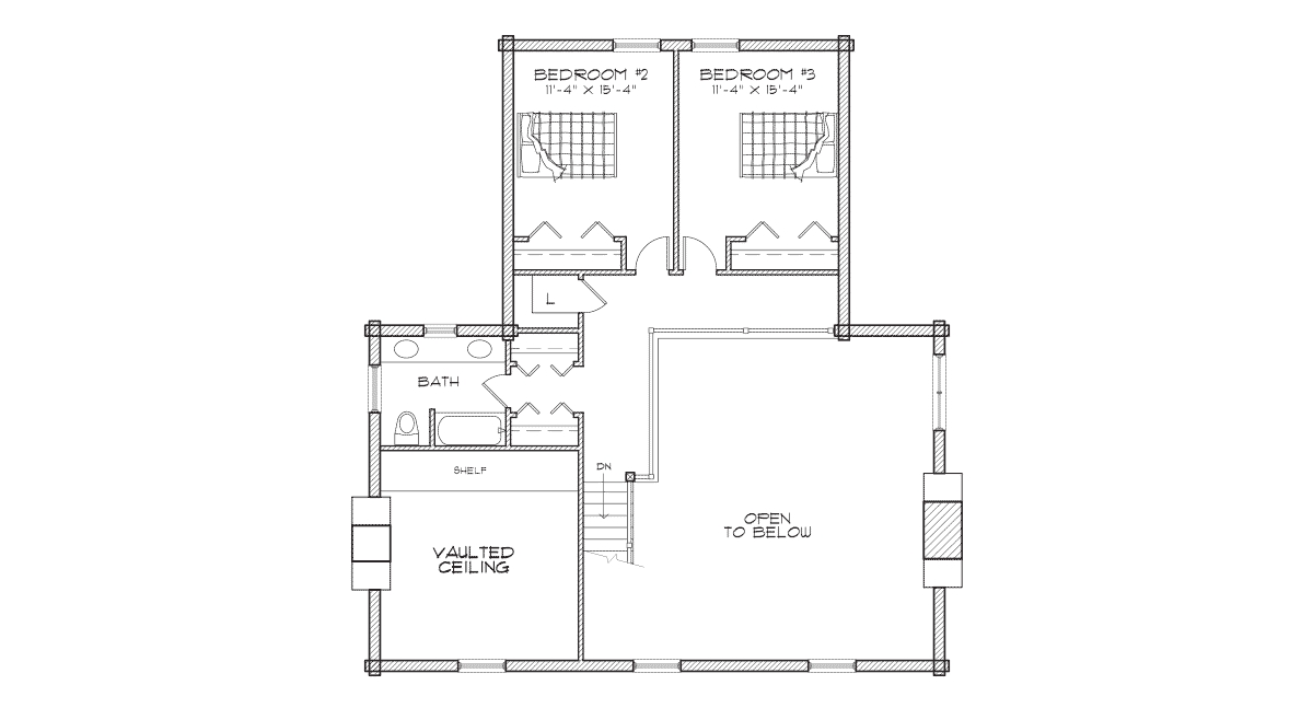 Stone Creek 2nd Floor Plan
