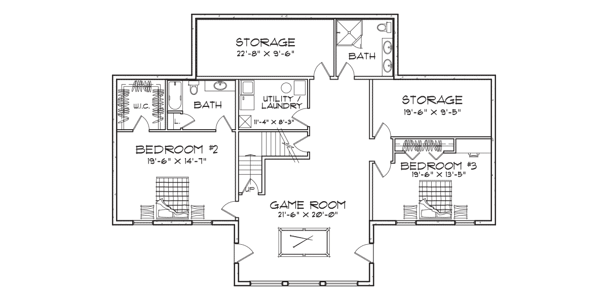 Stoneridge Basement Floor Plan