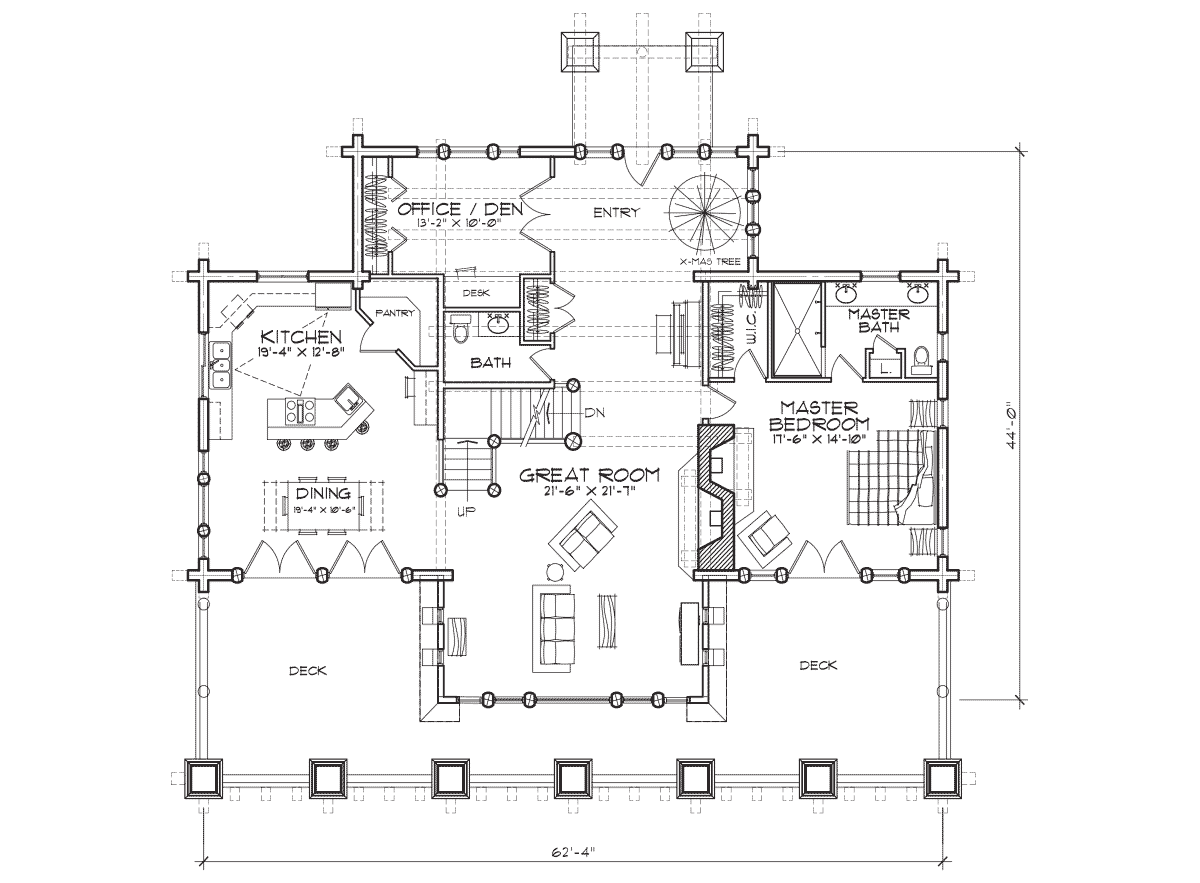 Stoneridge Main Floor Plan