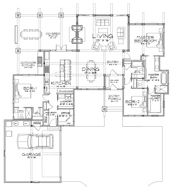 Sunriver Client Customization Floor Plan