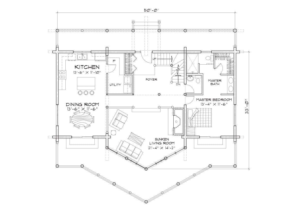 Tahoe Main Floor Plan
