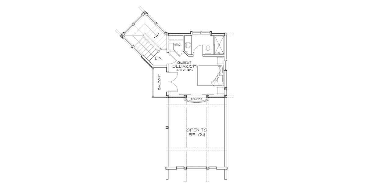 Targhee Second Floor Plan