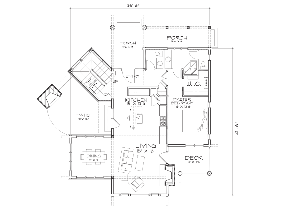 Targhee Main Floor Plan