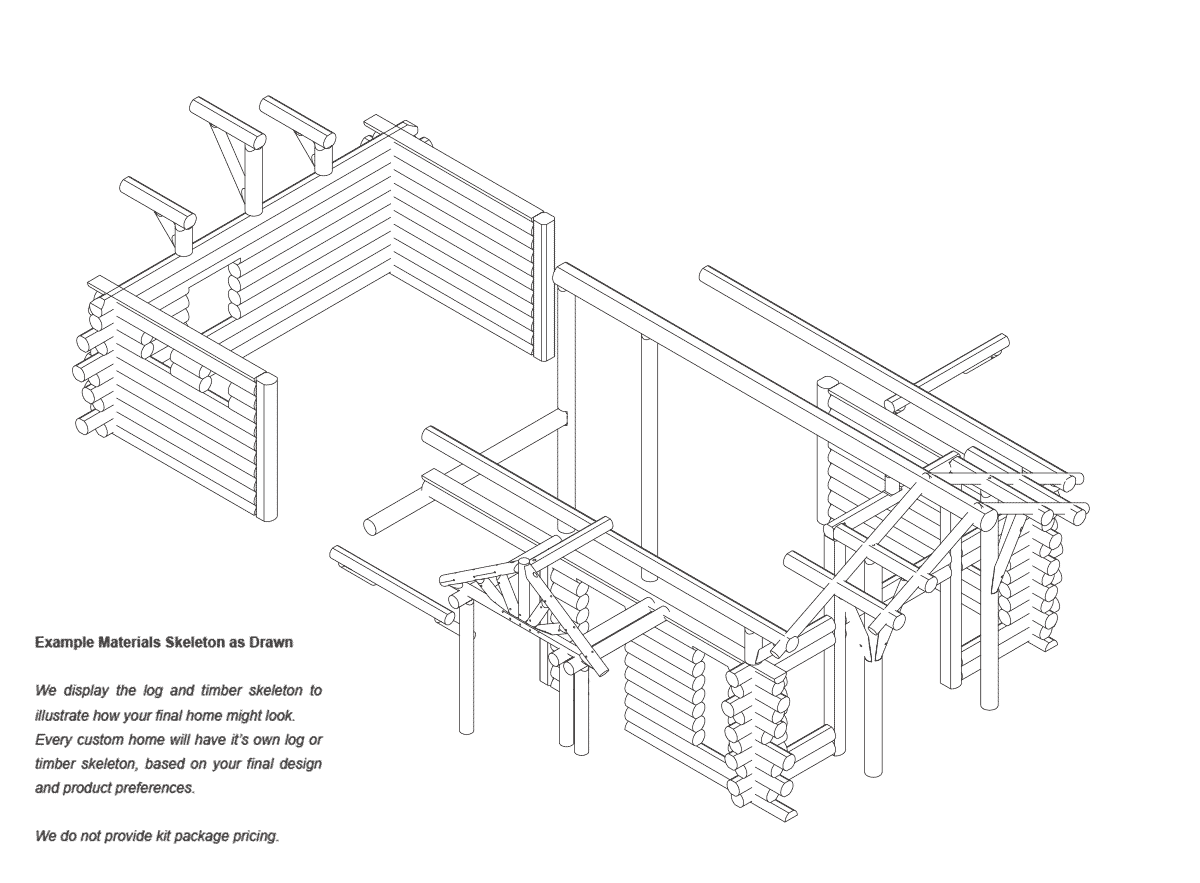 telluride  timber frame Structure