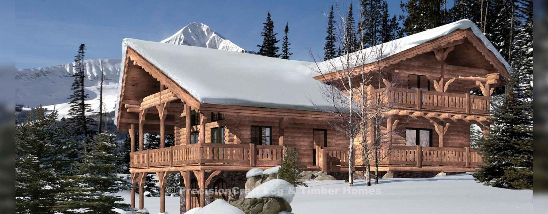 Timber Ridge | Log Home Floor Plan