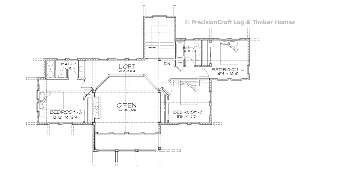 Alta Second Floor Plan