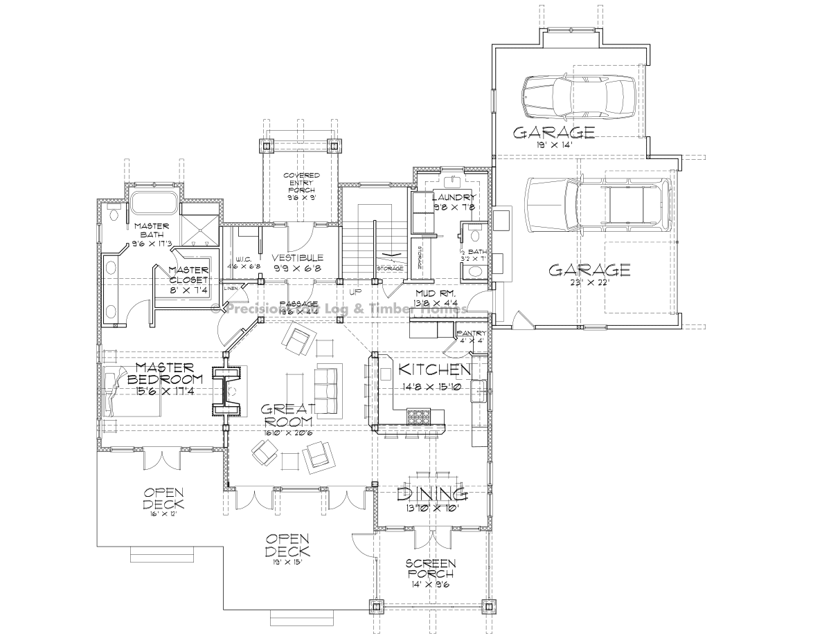 Alta Main Floor Plan