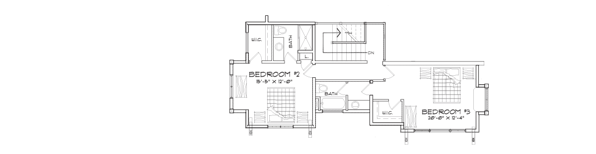 Trailside Second Floor Plan