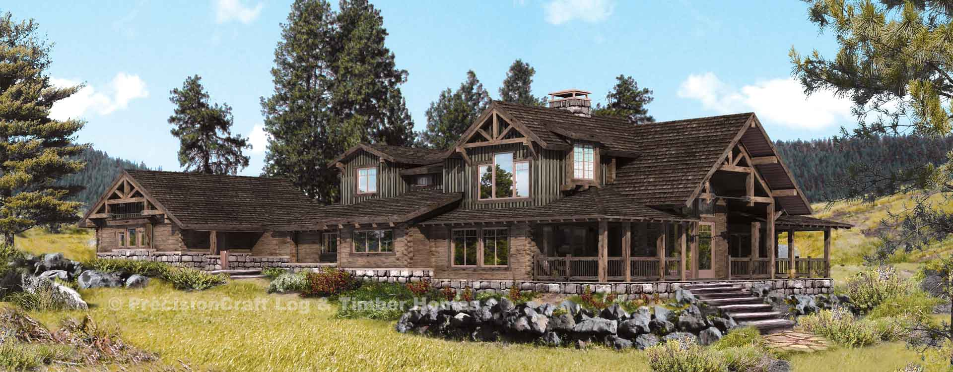 Trailside Rendering