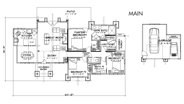 Truckee Client Customization 2 Floor Plan