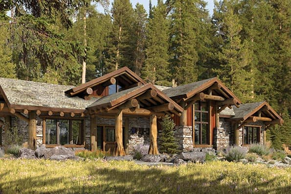 Superieur Truckee Rustic Log Home Floor Plan