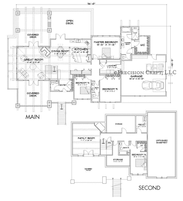 Washington Harbor Customization Floor Plan