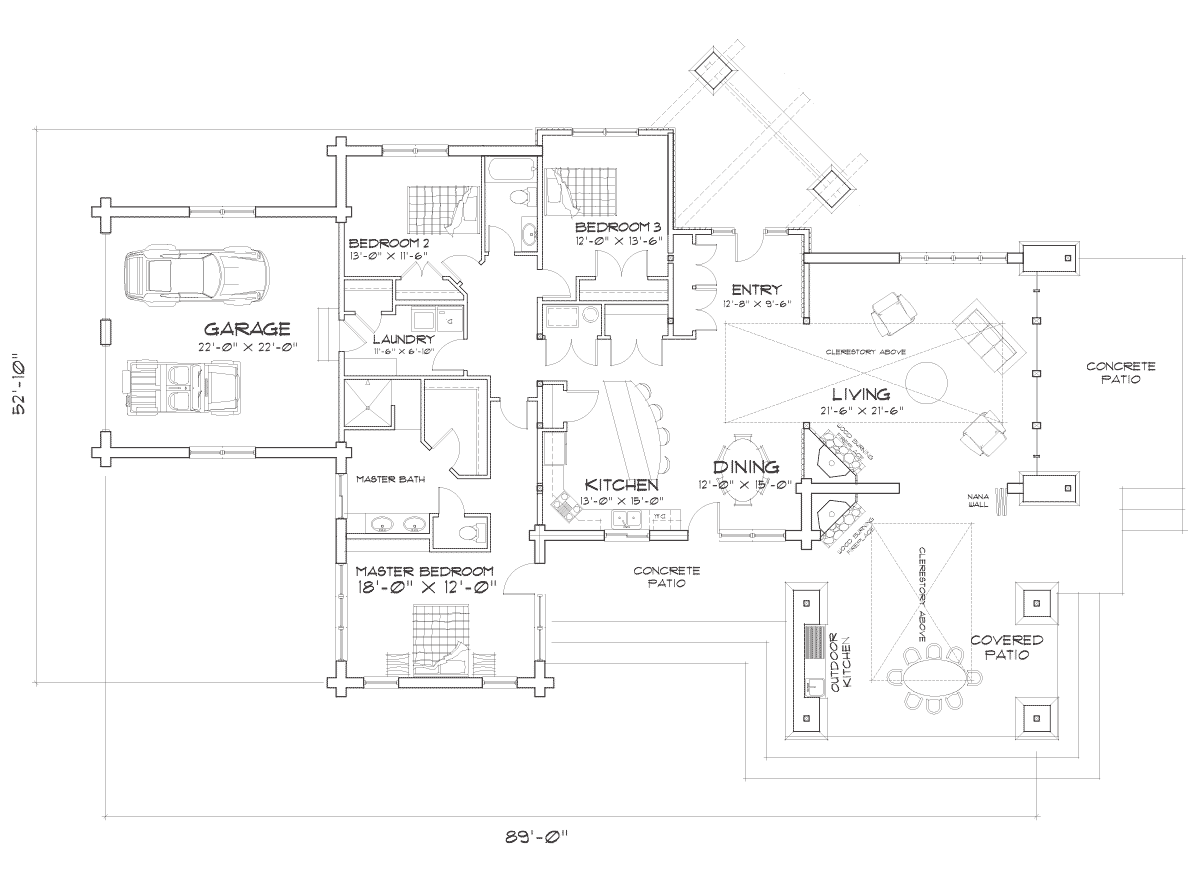 Washington Harbor Main Floor Plan