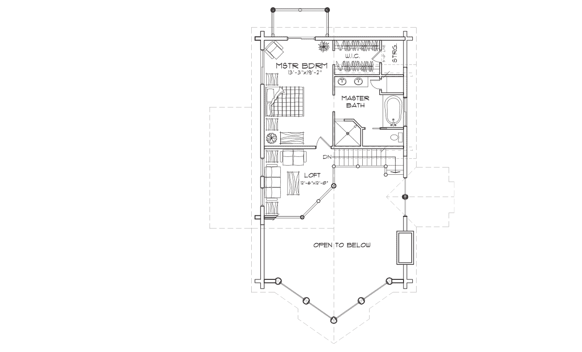 Winterpark Second Floor Plan