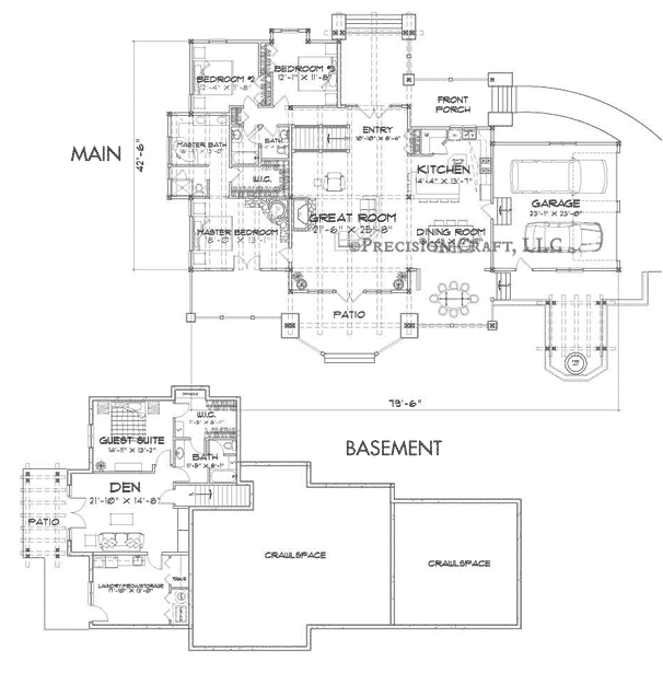 Wood River Customization 3 Floor Plan