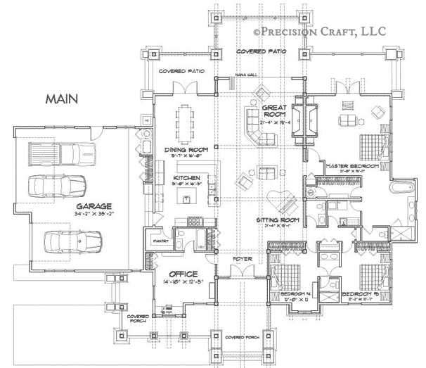 Wood River Customization 2 Floor Plan
