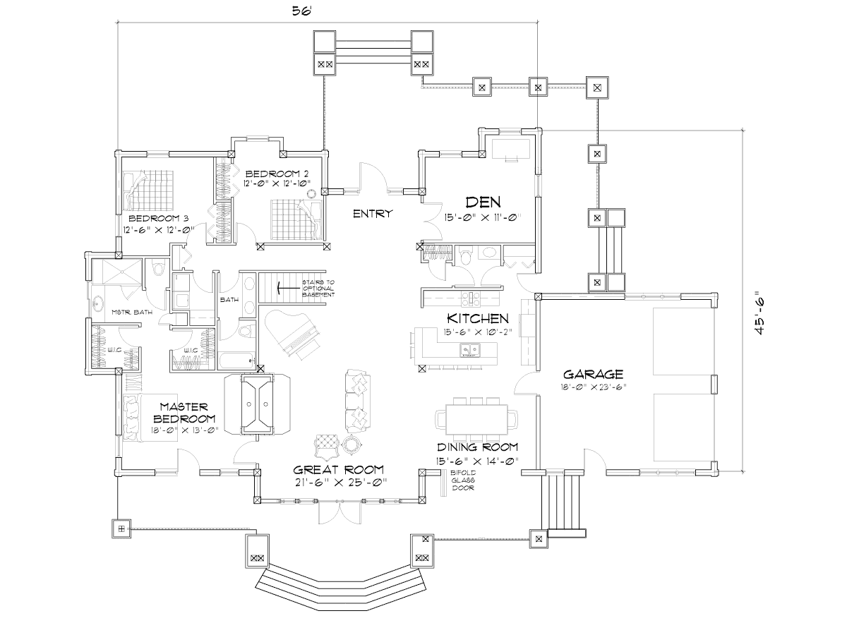 Wood River Main Floor Plan