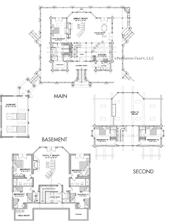 Woodhaven Customization 2 Floor Plan