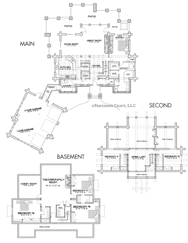 Woodhaven Customization Floor Plan