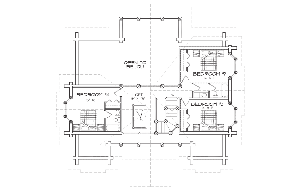 Woodhaven Second Floor Plan