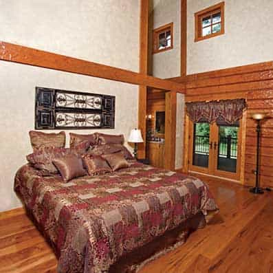 Hybrid Log and Timber Frame Bedroom 2