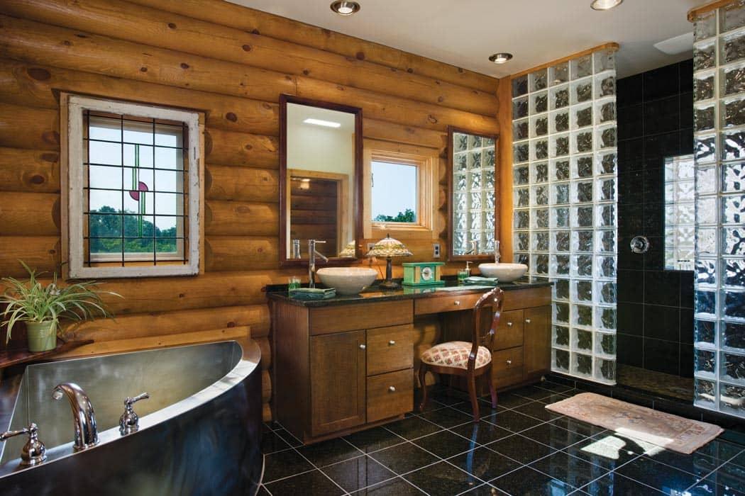 Rustic Bathroom Vanities  Log Bathroom Vanities  Rustic