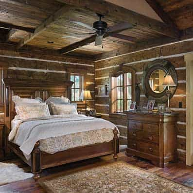 Hybrid Log and Timber Bedroom 3